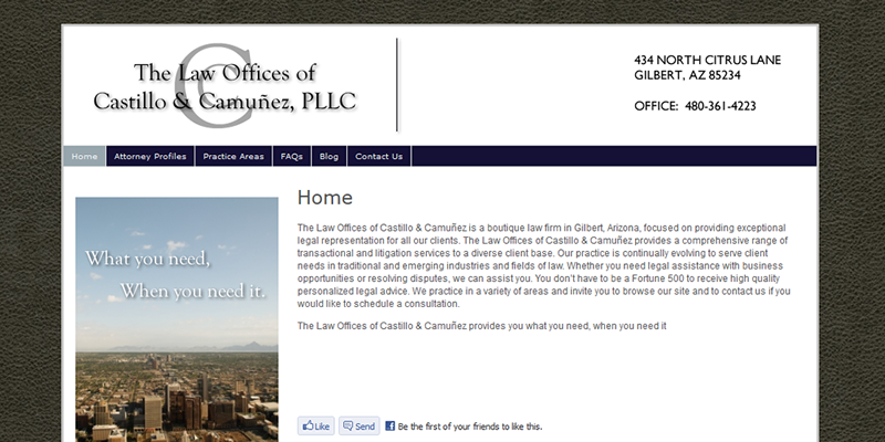 The Law Offices of Castillo & Camuñez
